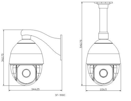 红外球型摄像机 - 海南科明电子机电有限公司